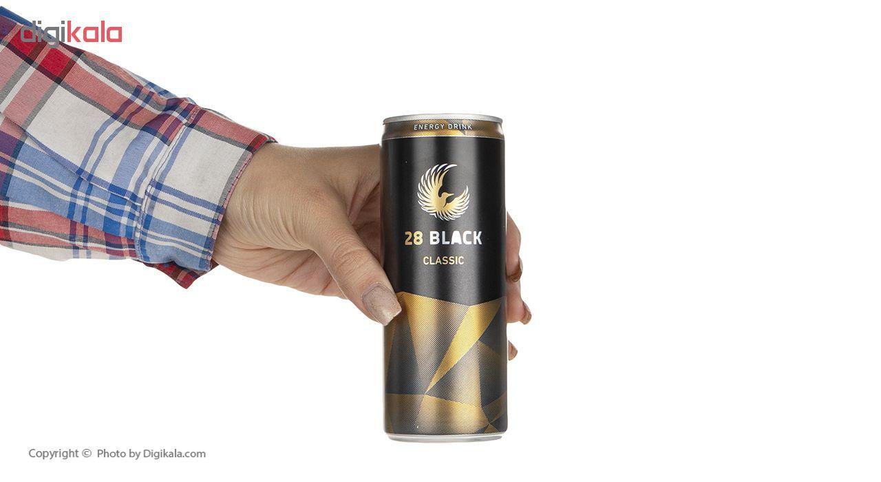 نوشیدنی انرژی زا گیاهی 28 بلک کلاسیک حجم 250 میلی لیتر main 1 5