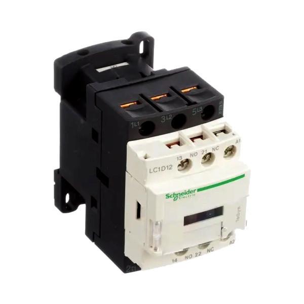 کنتاکتور اشنایدر الکتریک مدل LC1D12M7 ظرفیت 12 آمپر