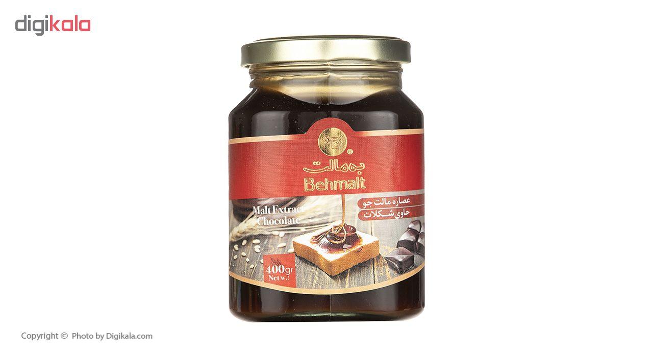 عصاره مالت جو با شکلات به مالت - 400 گرم