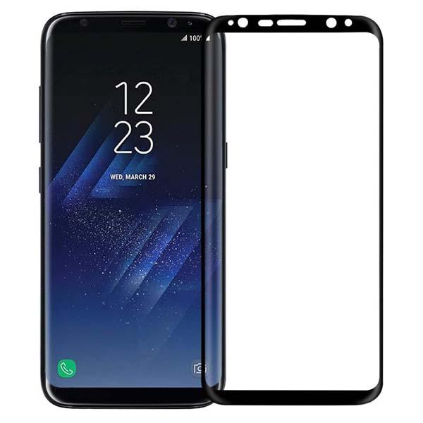 محافظ صفحه نمایش 9D مدل A101 مناسب برای گوشی موبایل سامسونگ Galaxy S8