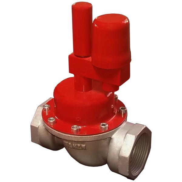 دستگاه قطع کن اتوماتیک جریان گاز زلزله طنین توسعه پارس مدل H11/4E2P