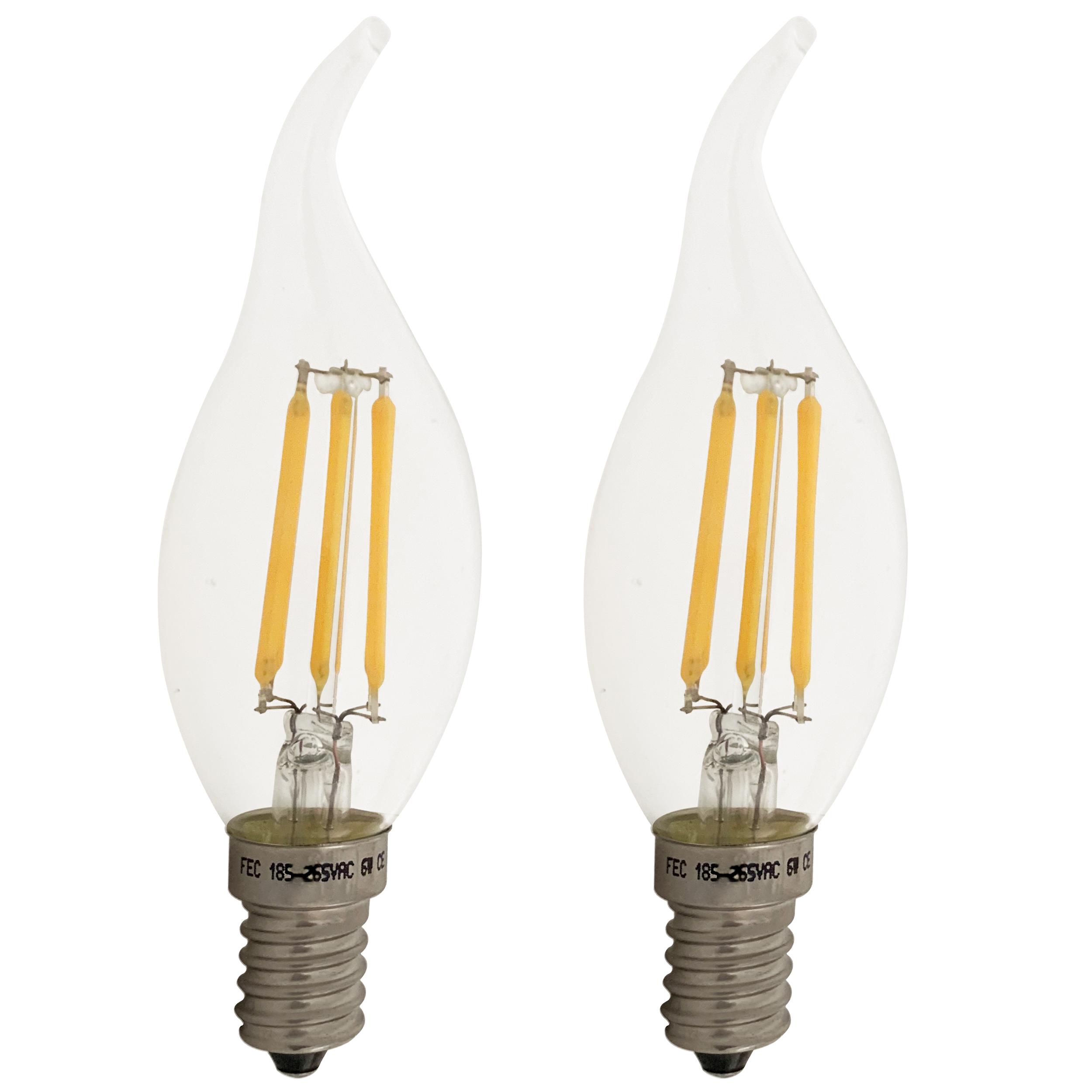 لامپ فیلامنتی 6 وات اف ای سی مدل TAIL پایه E14
