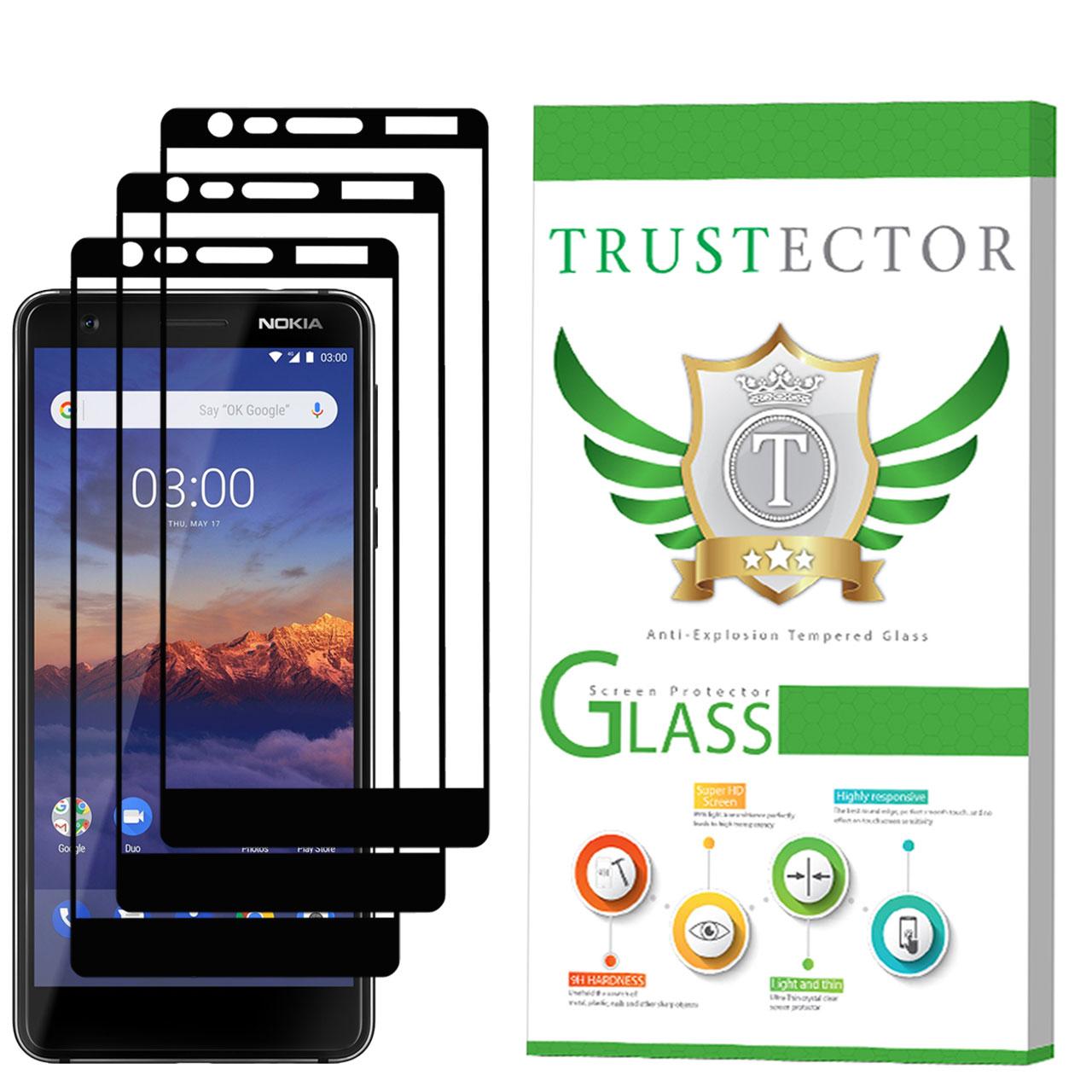 محافظ صفحه نمایش تراستکتور مدل GSS مناسب برای گوشی موبایل نوکیا 3.1 بسته 3 عددی