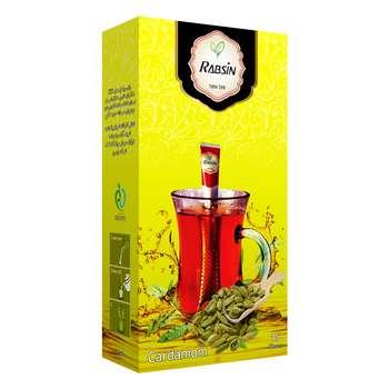 چای سیاه با طعم هل رابسین بسته 15 عددی