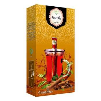 چای سیاه با طعم دارچین رابسین بسته 15 عددی