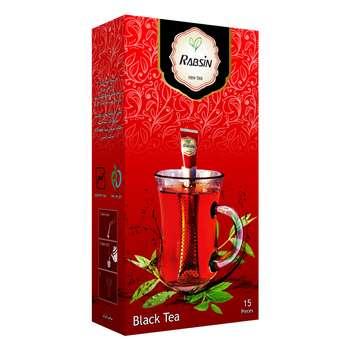 چای سیاه کلاسیک رابسین بسته 15 عددی