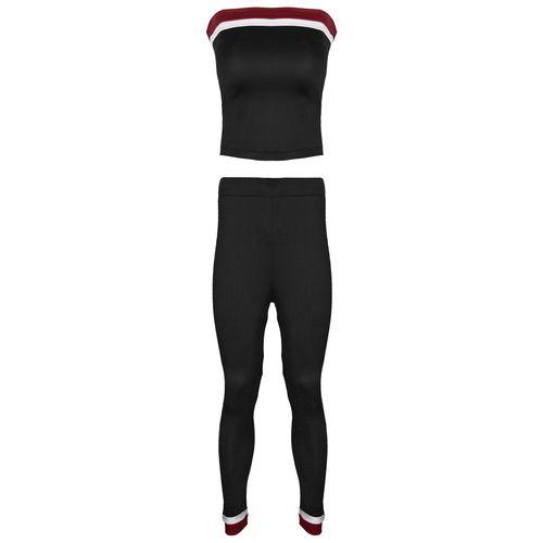 ست نیم تنه و شلوار ورزشی زنانه کد TSH-1