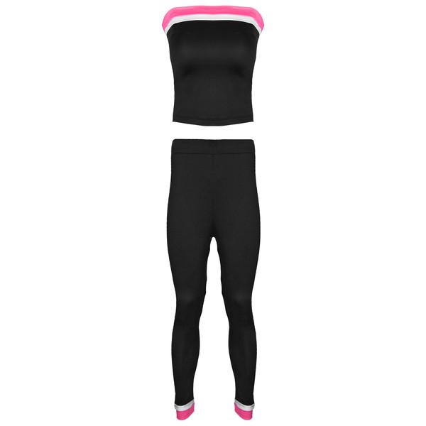 ست نیم تنه و شلوار ورزشی زنانه کد TSH-2