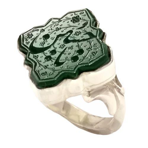 انگشتر نقره مردانه کد 138