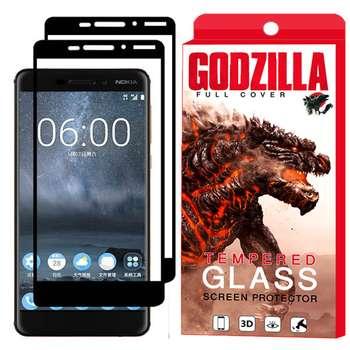 محافظ صفحه نمایش گودزیلا مدل GGF مناسب برای گوشی موبایل نوکیا 6.1 / 6 2018 بسته 2 عددی