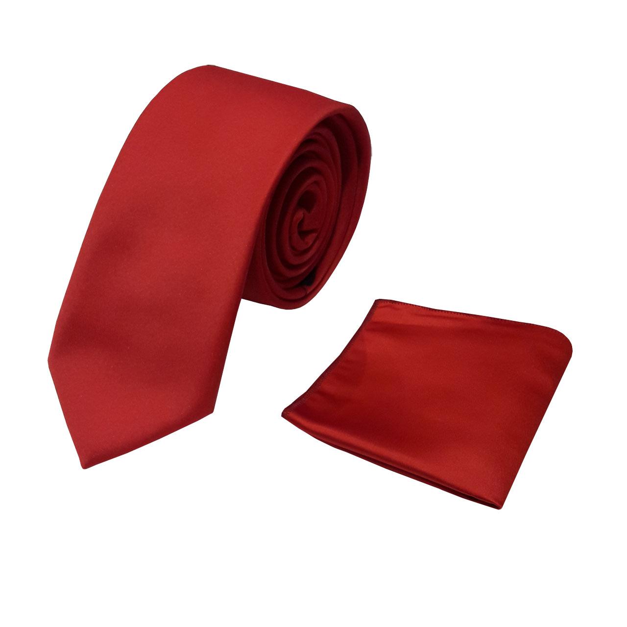 ست کروات و دستمال جیب مردانه  کد pr1025