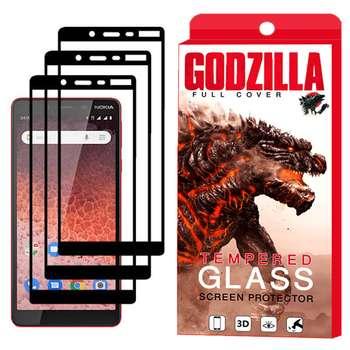 محافظ صفحه نمایش گودزیلا مدل GGF مناسب برای گوشی موبایل نوکیا 1Plus بسته 3 عددی