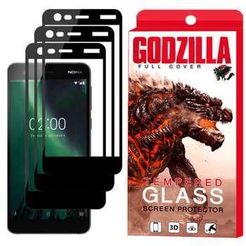 محافظ صفحه نمایش گودزیلا مدل GGF مناسب برای گوشی موبایل نوکیا 2 بسته 3 عددی