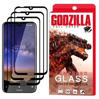 محافظ صفحه نمایش گودزیلا مدل GGF مناسب برای گوشی موبایل نوکیا 2.2 بسته 3 عددی