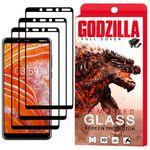 محافظ صفحه نمایش گودزیلا مدل GGF مناسب برای گوشی موبایل نوکیا 3.1Plus بسته 3 عددی thumb