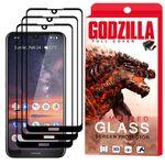 محافظ صفحه نمایش گودزیلا مدل GGF مناسب برای گوشی موبایل نوکیا 3.2 بسته 3 عددی thumb