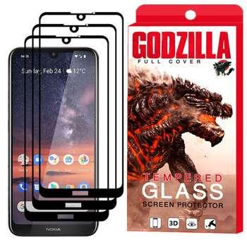 محافظ صفحه نمایش گودزیلا مدل GGF مناسب برای گوشی موبایل نوکیا 3.2 بسته 3 عددی