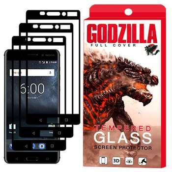 محافظ صفحه نمایش گودزیلا مدل GGF مناسب برای گوشی موبایل نوکیا 6 بسته 3 عددی