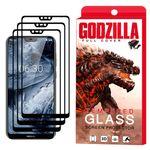 محافظ صفحه نمایش گودزیلا مدل GGF مناسب برای گوشی موبایل نوکیا X6 - 6.1 Plus بسته 3 عددی thumb