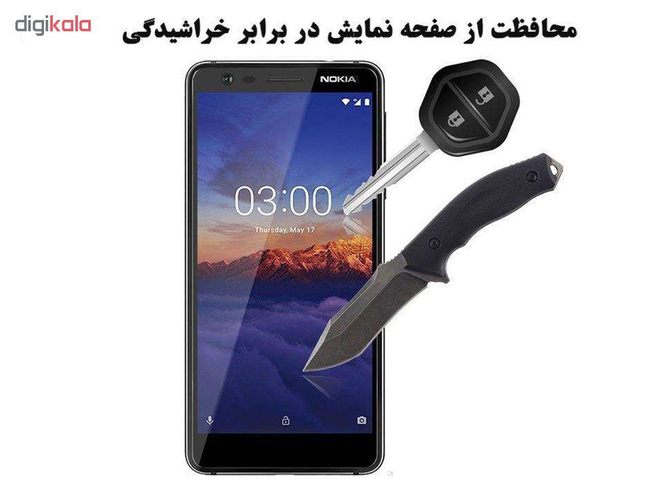 محافظ صفحه نمایش گودزیلا مدل GGF مناسب برای گوشی موبایل نوکیا 3.2 بسته 3 عددی main 1 2