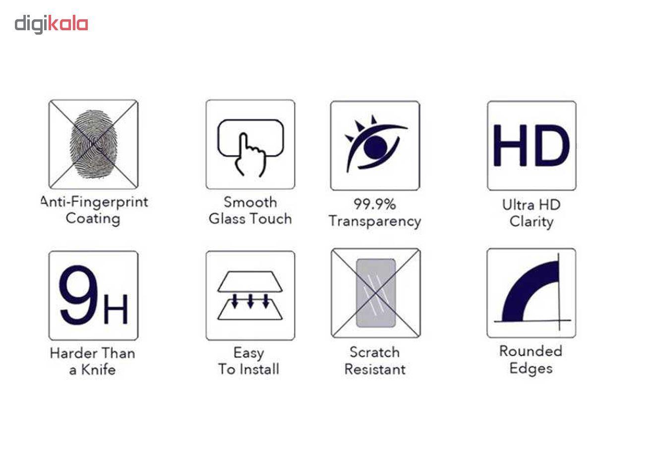 محافظ صفحه نمایش گودزیلا مدل GGF مناسب برای گوشی موبایل نوکیا X6 - 6.1 Plus بسته 3 عددی main 1 4