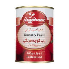 رب گوجه فرنگی سمیه مقدار 400 گرم