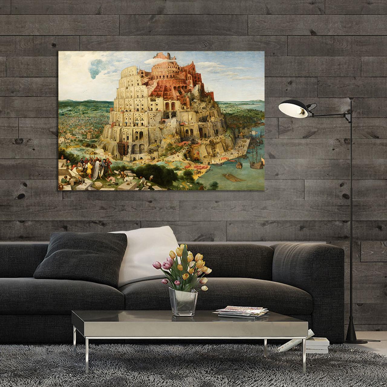 تابلو شاسی طرح برج بابل کد ART-1135