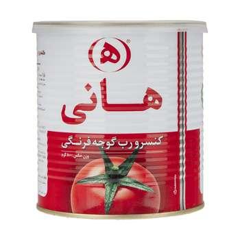 رب گوجه فرنگی هانی مقدار 800 گرم