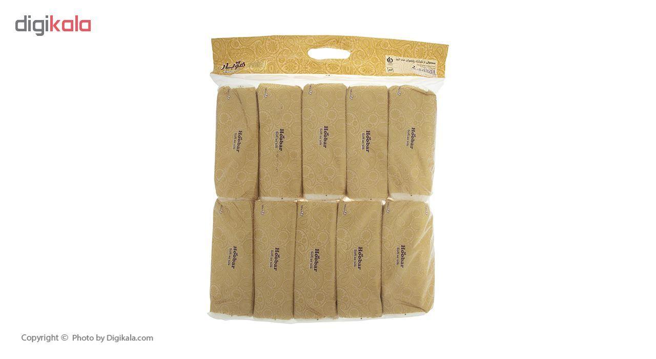 دستمال کاغذی 100 برگ هوبار - بسته 10 عددی main 1 3