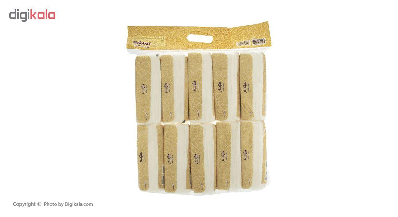 دستمال کاغذی 100 برگ هوبار - بسته 10 عددی main 1 4