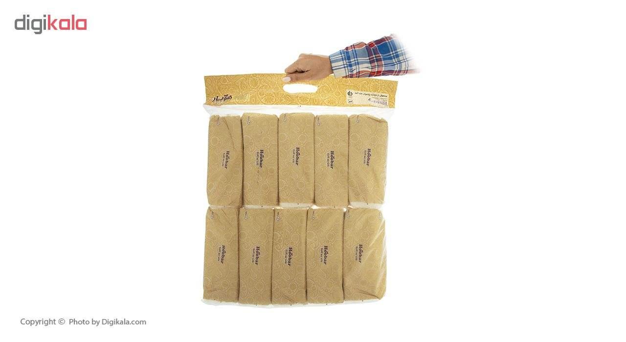 دستمال کاغذی 100 برگ هوبار - بسته 10 عددی main 1 5