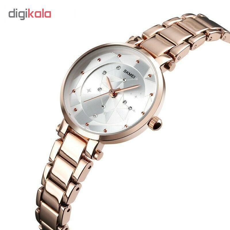 ساعت مچی عقربه ای زنانه اسکمی مدل 1411