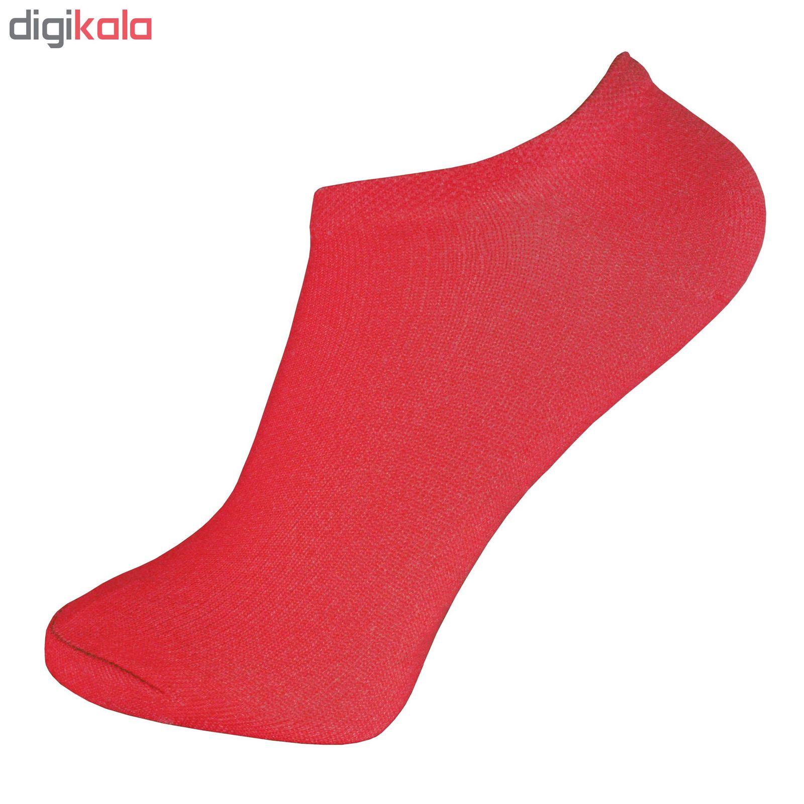 جوراب زنانه پرشیکا کد 1 مجموعه 12 عددی main 1 3