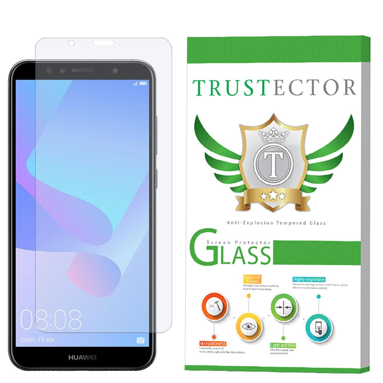 محافظ صفحه نمایش تراستکتور مدل GLS مناسب برای گوشی موبایل هوآوی Y6 2018 / Y6 Prime 2018              ( قیمت و خرید)