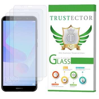 محافظ صفحه نمایش تراستکتور مدل GLS مناسب برای گوشی موبایل هوآوی Y6 2018 / Y6 Prime 2018 بسته 3 عددی