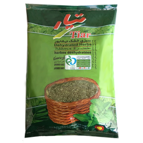 سبزی خشک قرمه سبزی تیار مقدار 180گرم