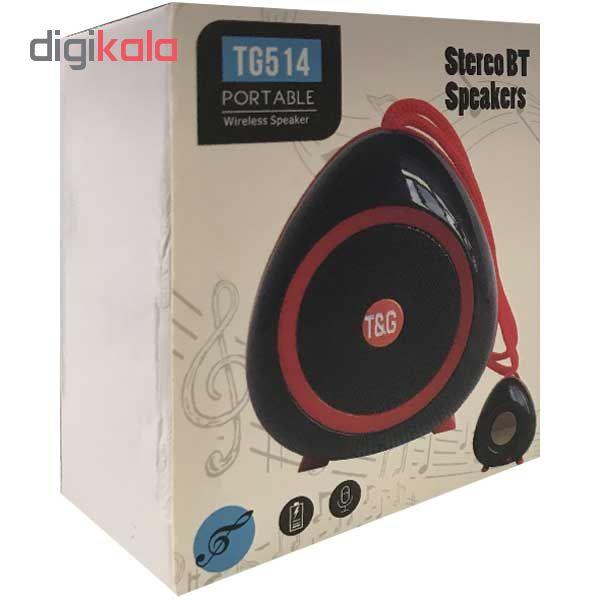 اسپیکر بلوتوثی تی اند جی مدل TG514 main 1 6