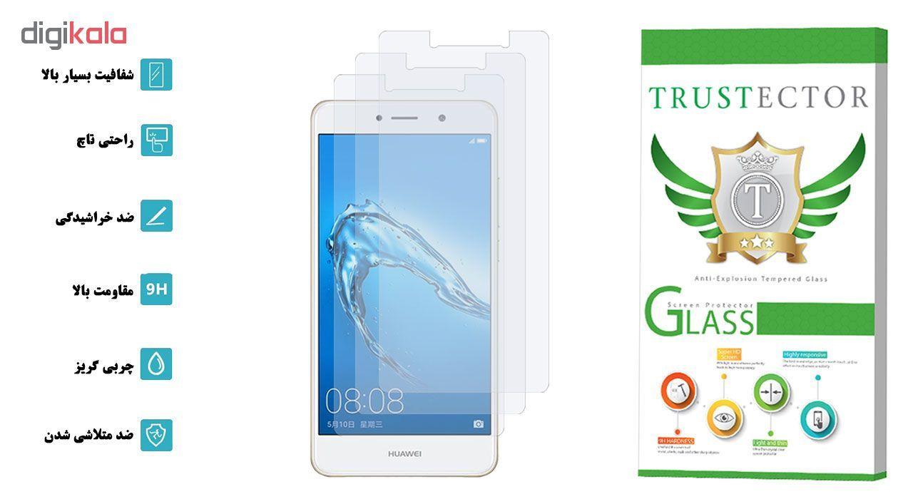 محافظ صفحه نمایش تراستکتور مدل GLS مناسب برای گوشی موبایل هوآوی Y7 Prime بسته 3 عددی main 1 2