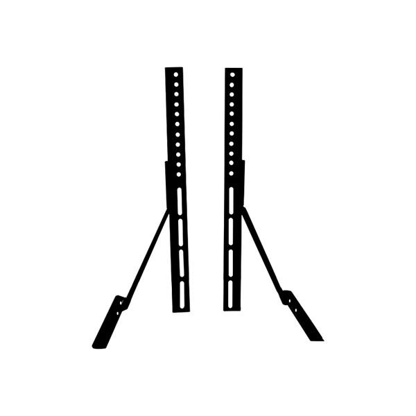 پایه رومیزی مدل TVDESK-3265 مناسب برای تلویزیون های 32 تا 65 اینچ