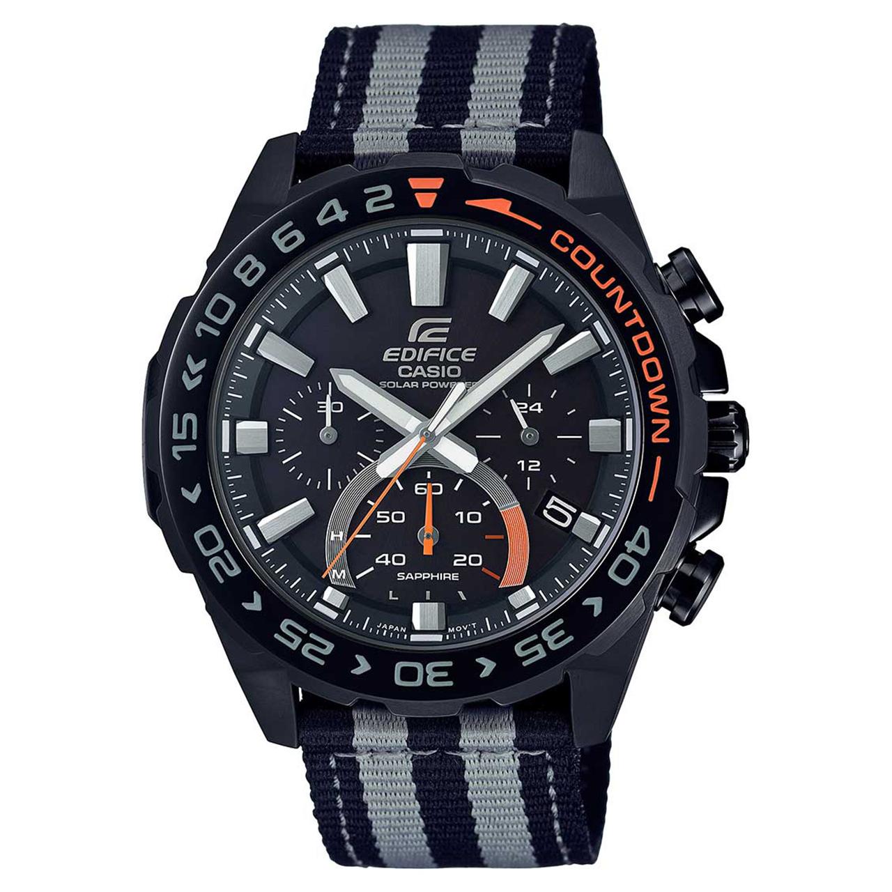 ساعت مچی عقربه ای مردانه کاسیو ادیفایس کد EFS-S550BL-1AVUDF