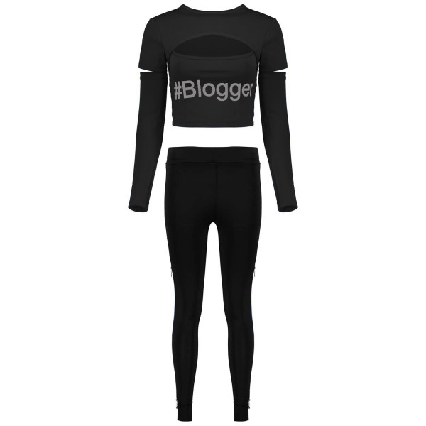 ست تی شرت و شلوار ورزشی زنانه کد bbB 12 P
