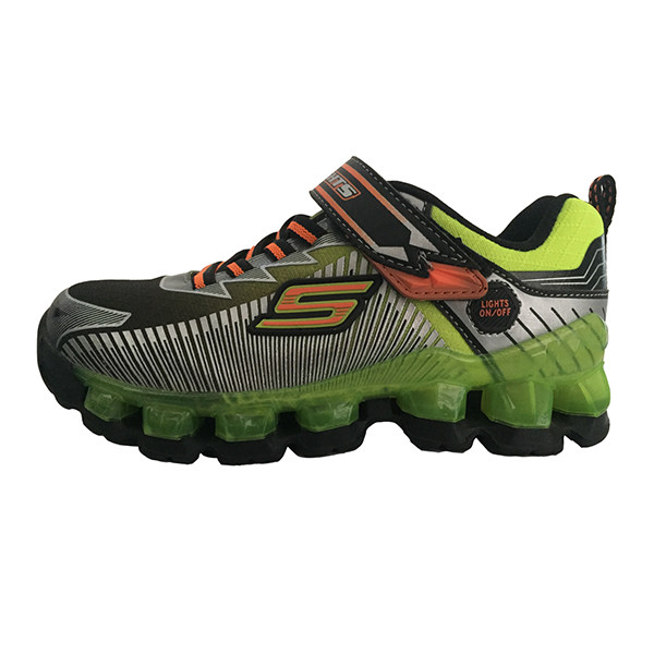 کفش راحتی پسرانه اسکچرز کد 90293L BKLM