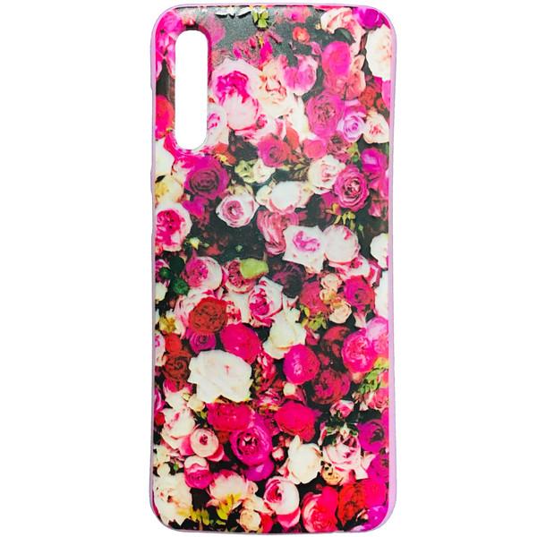 کاور طرح Flower کد 0716 مناسب برای گوشی موبایل سامسونگ Galaxy A70