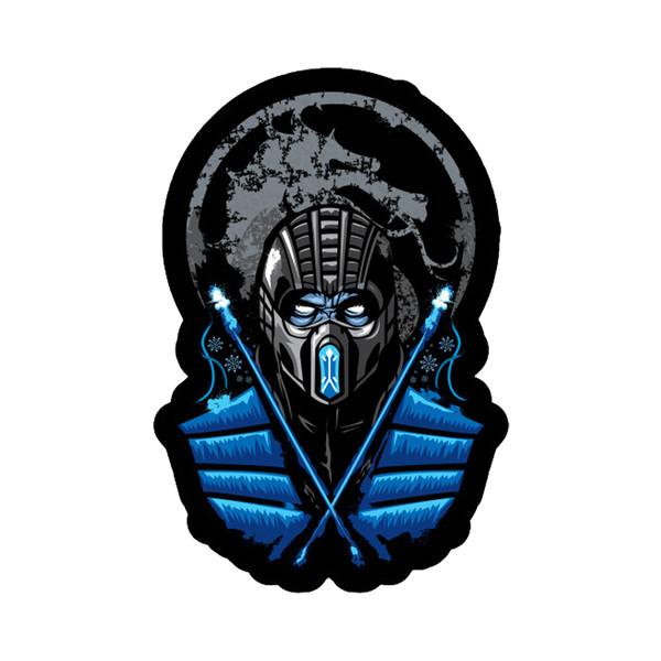 استیکر لپ تاپ طرح Sub Zero Mortal Combat کد STL1043