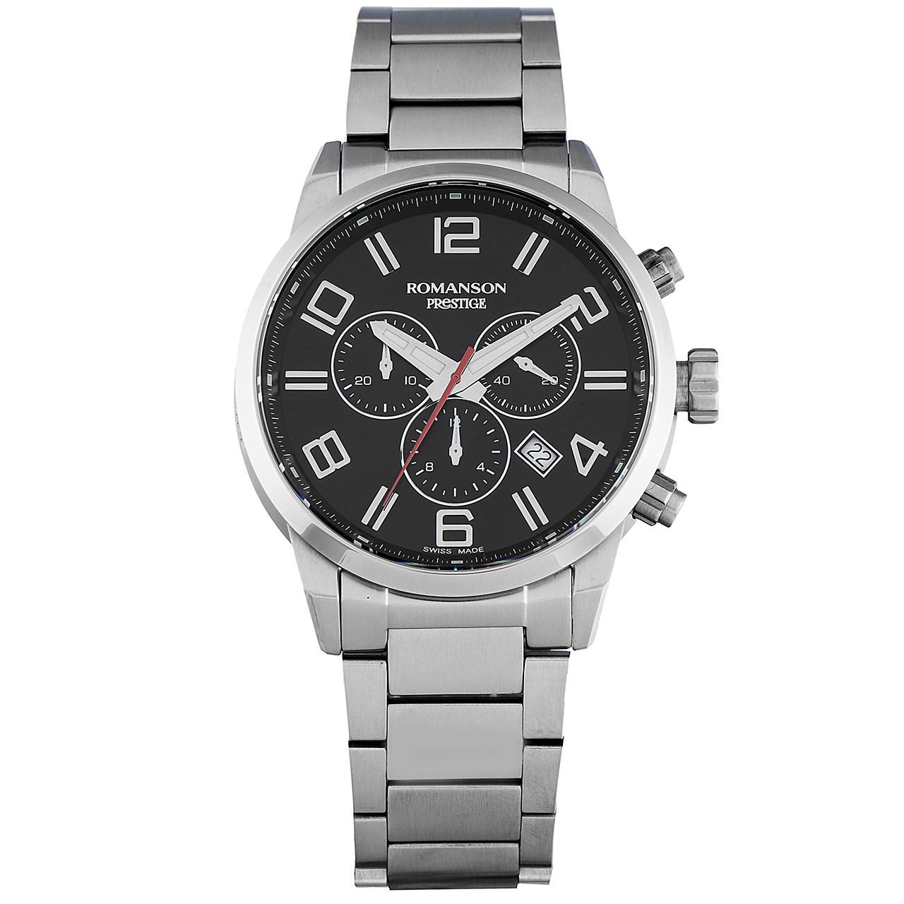 قیمت و خرید                      ساعت مچی عقربه ای مردانه رومانسون مدل TM3259HM1WA32W