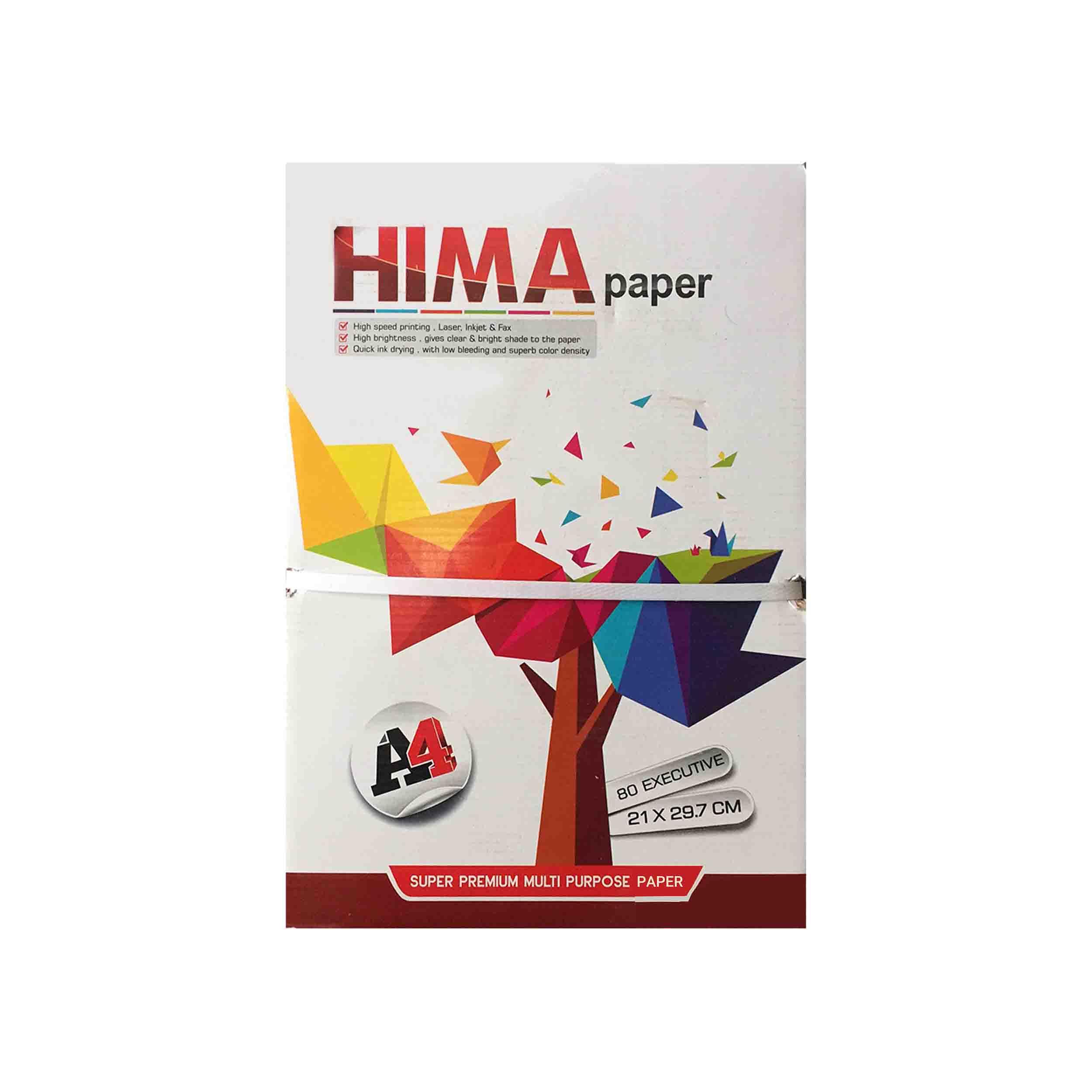 کاغذ A4 هیما کد H01 بسته 500 عددی
