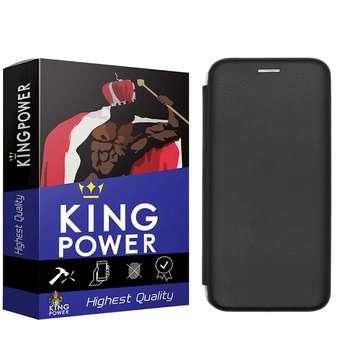 کیف کلاسوری کینگ پاور مدل KF0021 مناسب برای گوشی موبایل سامسونگ Galaxy A20
