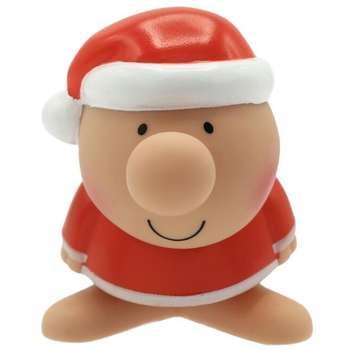 عروسک پالیز مدل مستر دماغ طرح بابانوئل ارتفاع 8 سانتی متر