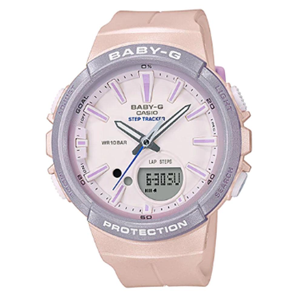ساعت مچی عقربه ای زنانه کاسیو مدل بی بی جی کد BGS-100SC-4A