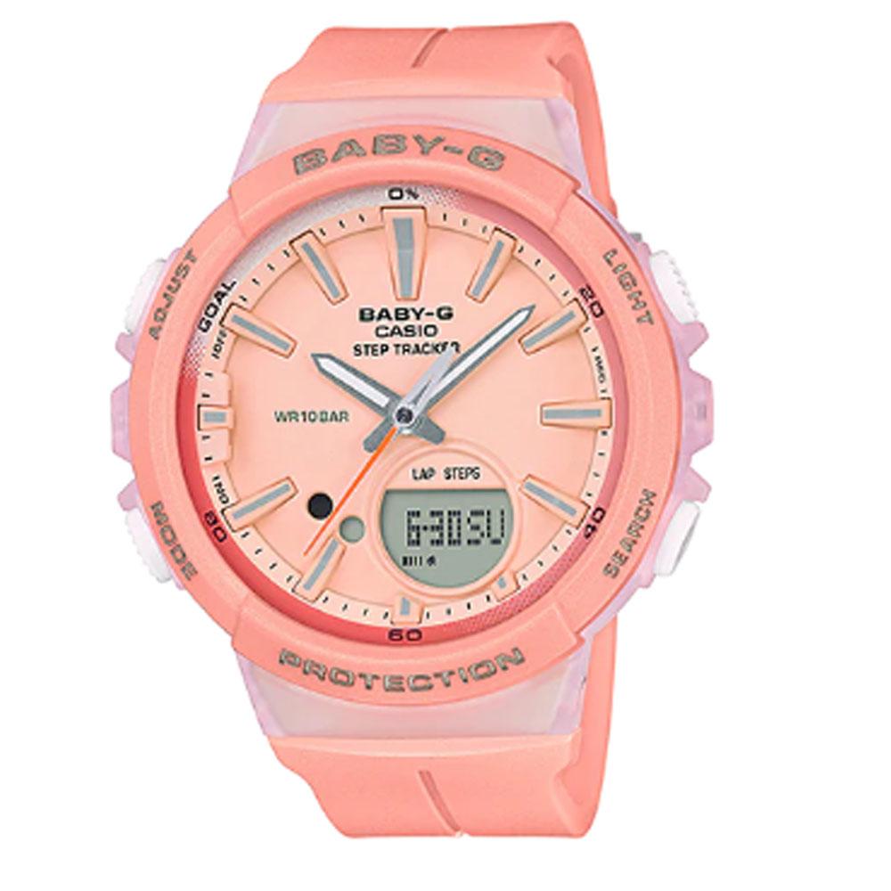 ساعت مچی عقربه ای زنانه کاسیو مدل بی بی جی کد BGS-100-4A